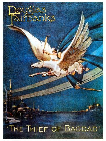 The Thief of Bagdad, 1924, Directed by Raoul Walsh Giclee Print