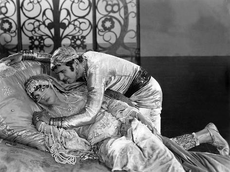 The Thief Of Bagdad, Julanne Johnston, Douglas Fairbanks, Sr., 1924 Foto