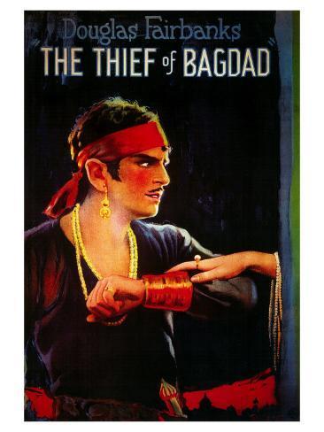 The Thief of Baghdad, 1924 Art Print