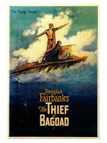 The Thief of Baghdad, 1924 Art Print