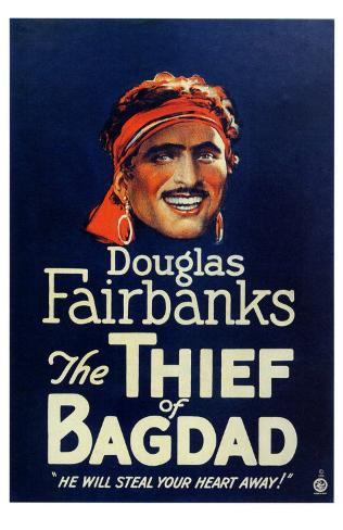The Thief of Baghdad, 1924 Masterprint