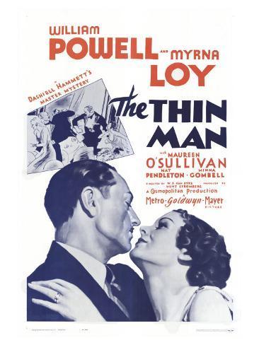 The Thin Man, 1934 Art Print