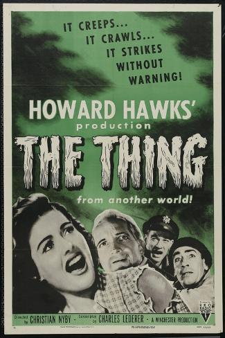 The Thing From Another World, 1951, Directed by Howard Hawks Impressão giclée