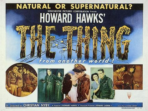 The Thing from Another World, 1951 Premium Giclee Print