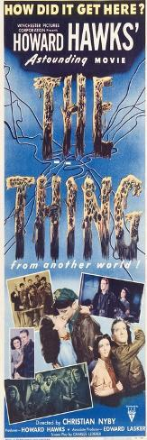 The Thing from Another World, 1951 Exklusivt gicléetryck