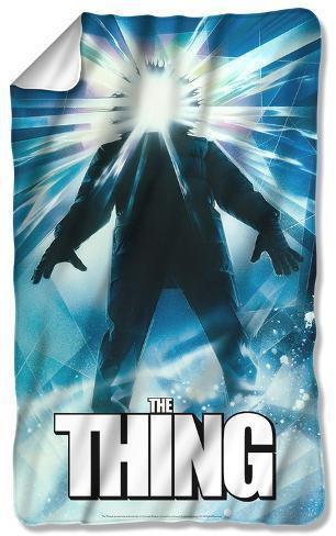 The Thing - Poster Fleece Blanket Fleece Blanket
