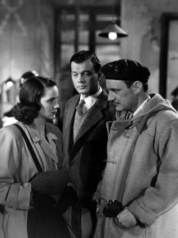 The Third Man, Alida Valli, Joseph Cotten, Trevor Howard, 1949 Foto