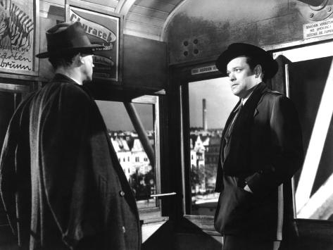 The Third Man, Joseph Cotten, Orson Welles, 1949 Photo