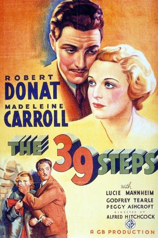 The Thirty-nine Steps, 1935,