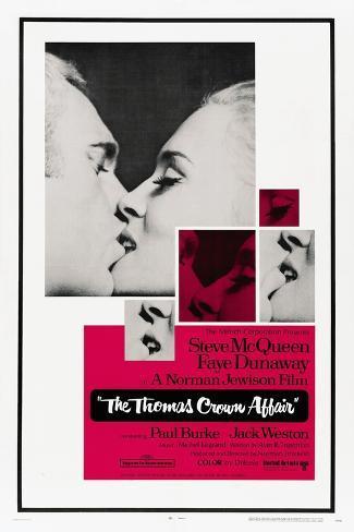 The Thomas Crown Affair,1968 Giclee Print