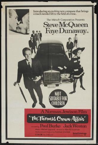 The Thomas Crown Affair - Australian Style Poster