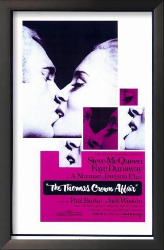 The Thomas Crown Affair Impressão artística emoldurada