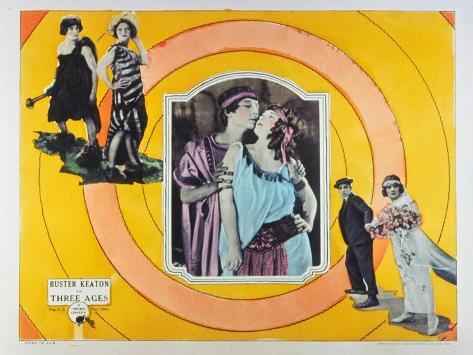 The Three Ages, 1923 Premium Giclee Print
