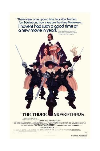 The Three Musketeers Konstprint