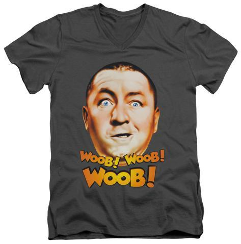The Three Stooges - Woob Woob Woob V-Neck V-Necks