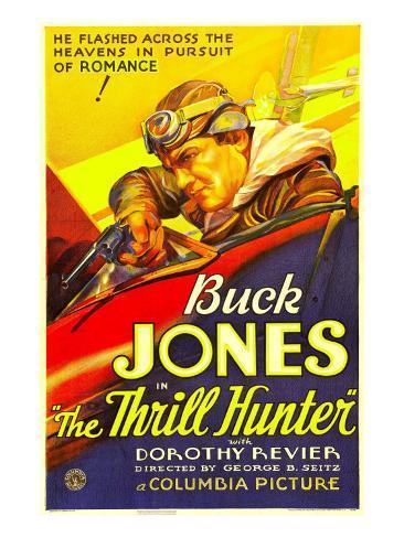 The Thrill Hunter, Buck Jones, 1933 写真