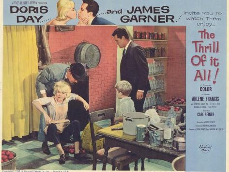 The Thrill of it All, 1963 Impressão artística