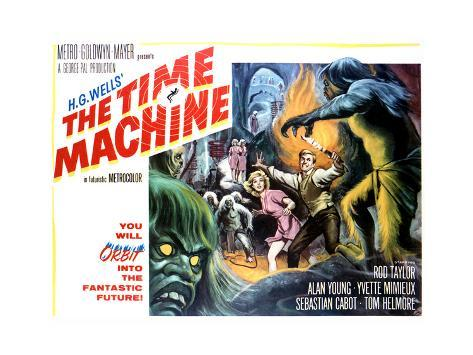 The Time Machine - Lobby Card Reproduction Art Print