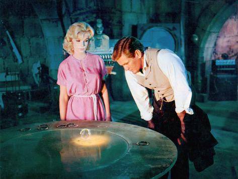 The Time Machine, Yvette Mimieux, Rod Taylor, 1960 Photo