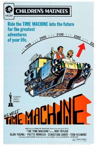 The Time Machine Konstprint