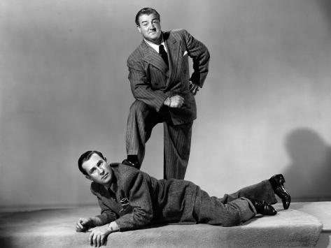 The Time of their Lives, Bud Abbott, Lous Costello, 1946 Photo