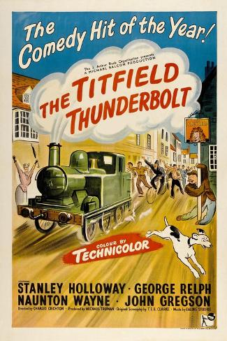 The Titfield Thunderbolt, 1953, Directed by Charles Crichton Impressão giclée