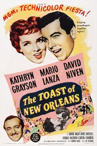 The Toast of New Orleans Konstprint