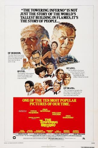 The Towering Inferno, 1974 Art Print