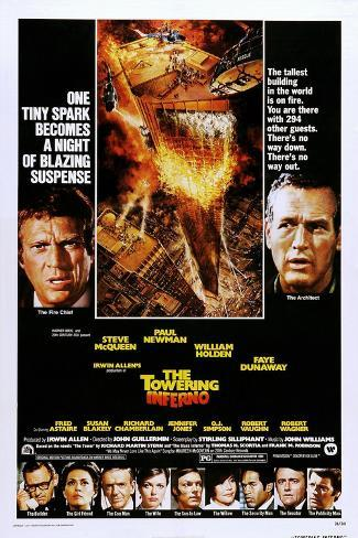 The Towering Inferno Art Print