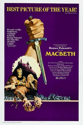 The Tragedy of Macbeth Art Print