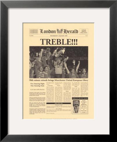 The Treble Framed Art Print