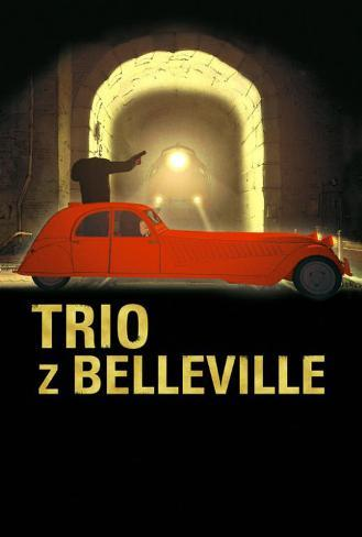 The Triplets of Belleville - Polish Style Poster
