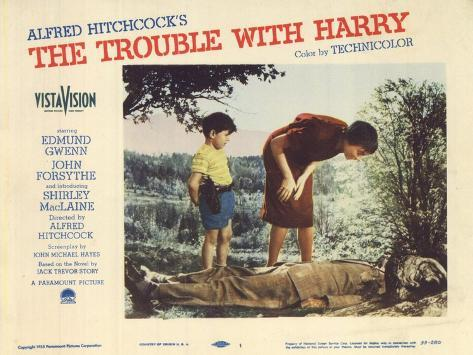 The Trouble With Harry, 1955 Impressão artística