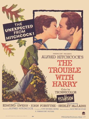 The Trouble With Harry, 1955 Impressão artística