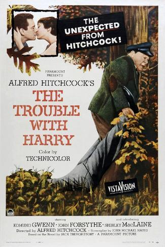 The Trouble with Harry Art Print