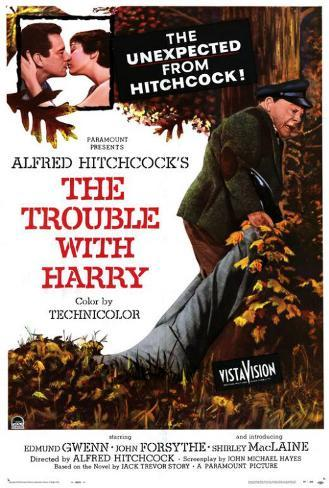 The Trouble With Harry Pôster