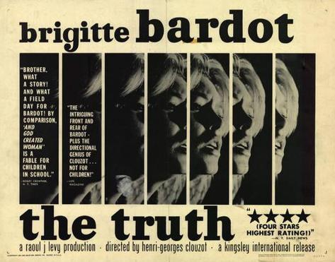 The Truth -  Style Poster