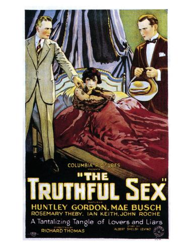 The Truthful Sex - 1926 Giclee Print