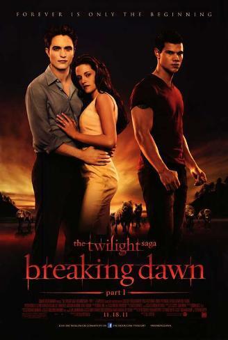 The Twilight Saga: Breaking Dawn - Part 1 Movie Poster Impressão original