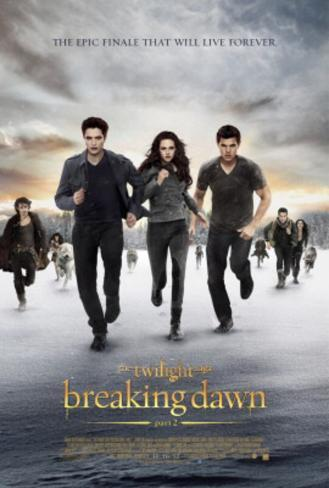 The Twilight Saga Breaking Dawn Part 2 Movie Poster Poster double face