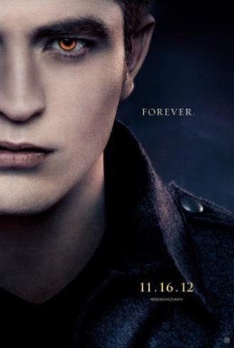 The Twilight Saga Breaking Dawn Part 2 Movie Poster Double-sided poster