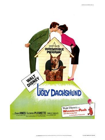 The Ugly Dachshund, 1966 Konstprint