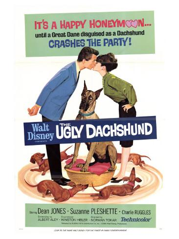 The Ugly Dachshund, 1966 Art Print