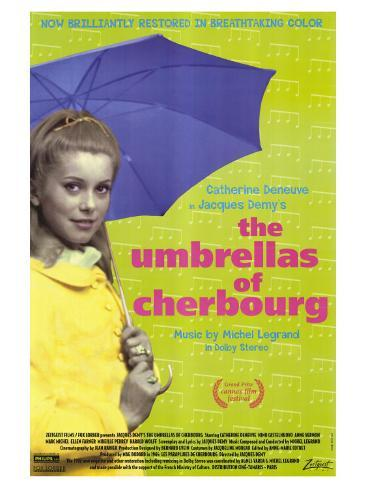 The Umbrellas of Cherbourg, 1964 Art Print
