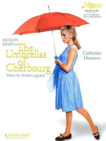 The Umbrellas of Cherbourg, 1964 Art Print