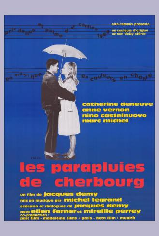 The Umbrellas of Cherbourg - French Style Poster