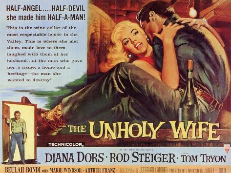 The Unholy Wife, 1957 Art Print