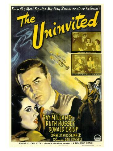 The Uninvited, 1944 Konstprint