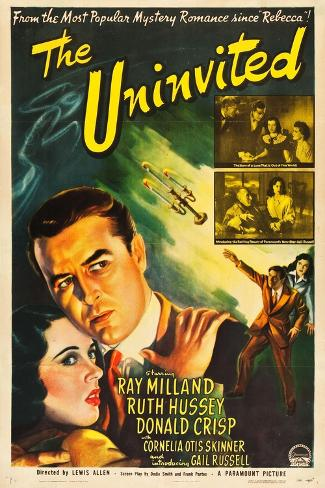 The Uninvited, Gail Russell, Ray Milland, 1994 Lámina