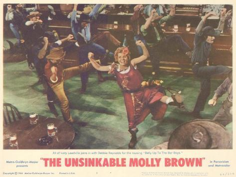 The Unsinkable Molly Brown, 1964 Art Print